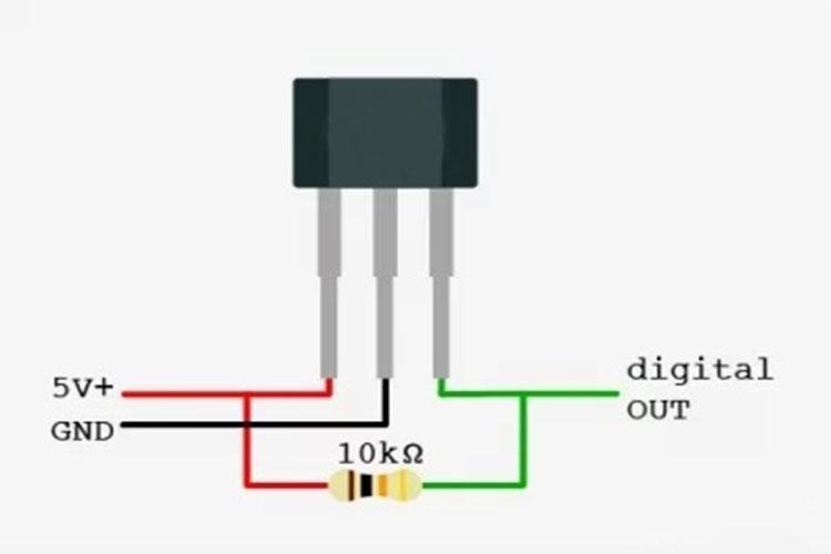 直流无刷电机转子位置传感器的特点和工作原理