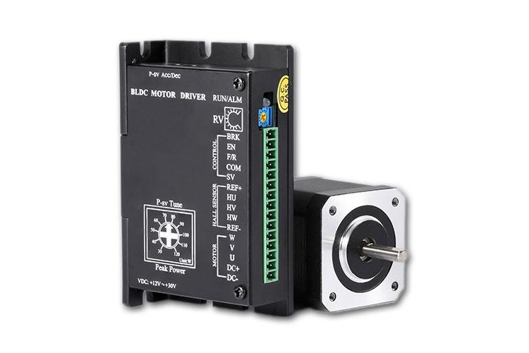 直流无刷电机工作电压从48V改为24V规定电机转距和转速不会改变如何调节