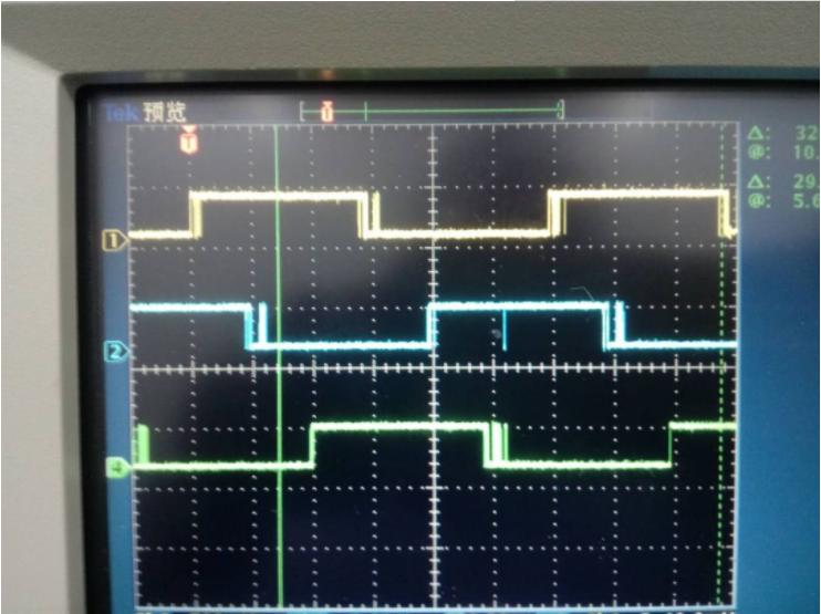 直流無刷電機波形圖