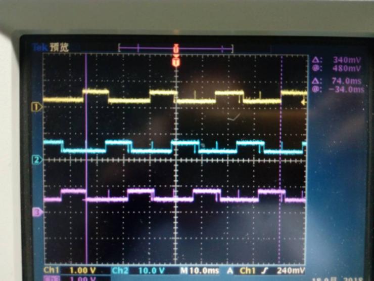 直流無刷電機波形圖 01