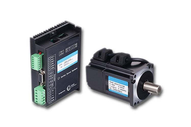 低压直流伺服电机和工业以太网结合的解决方案