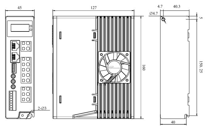 DM82H2步进电机驱动器_外形尺寸