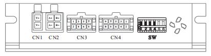 D2SS57闭环步进电机驱动器-细分设定端口