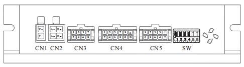 D2SS86閉環步進電機驅動器_細分設定端口