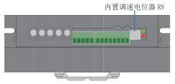 BLD25LB無刷電機驅動器_內置電位器調速