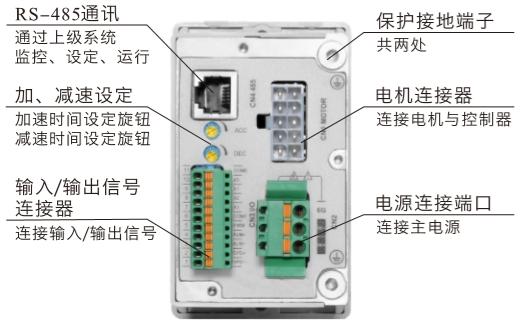 DHD200LRD无刷驱动器接线图