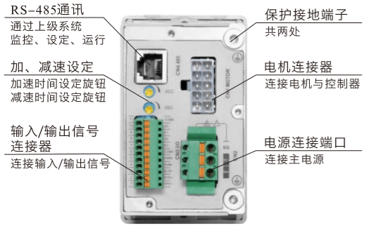 DHS200LRD無刷驅動器接線圖