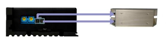 DH08LRD无刷控制器-刹车电阻连接